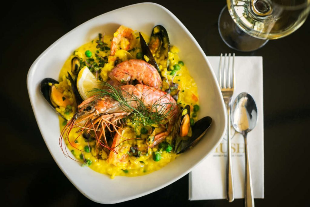 seafood-risotto-hush-restaurant-fine-dining